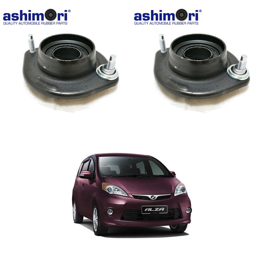 Ashimori Rubber Part 1 pair Strut Mount Absorber Mounting for Perodua Alza