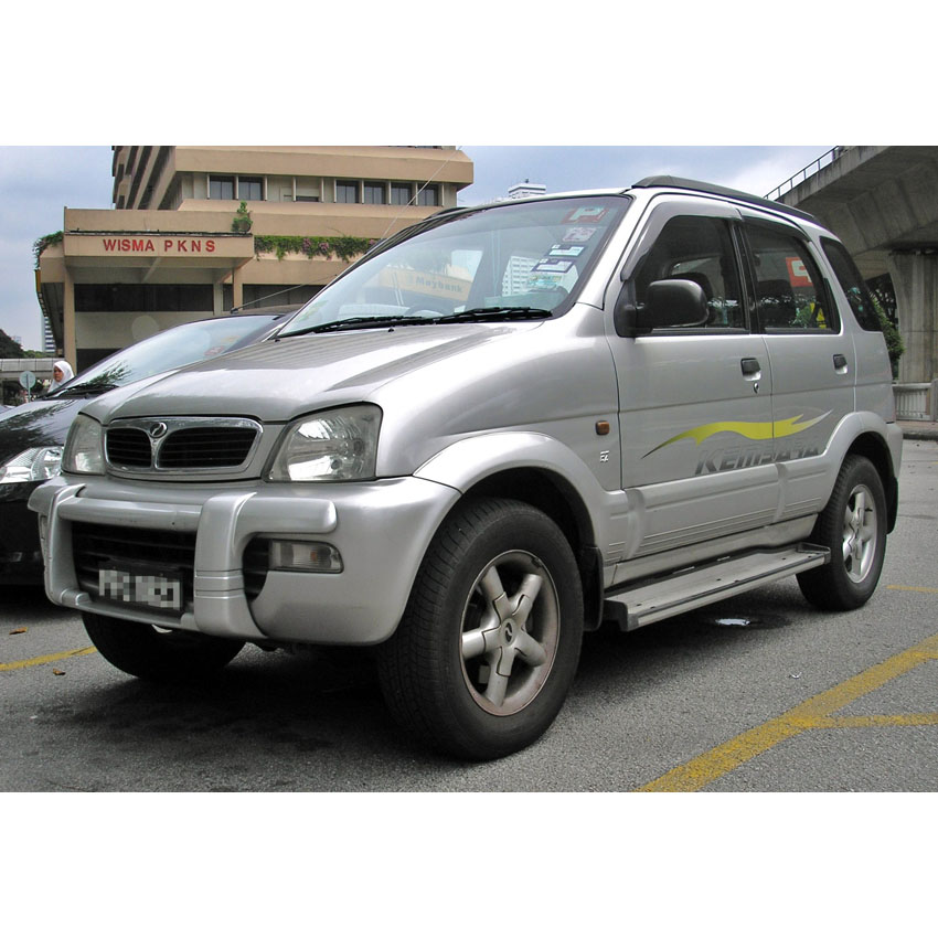 Ashimori 1 pair Perodua Kembara, Toyota Avanza Absorber Mounting Front Strut Mount Rubber Part