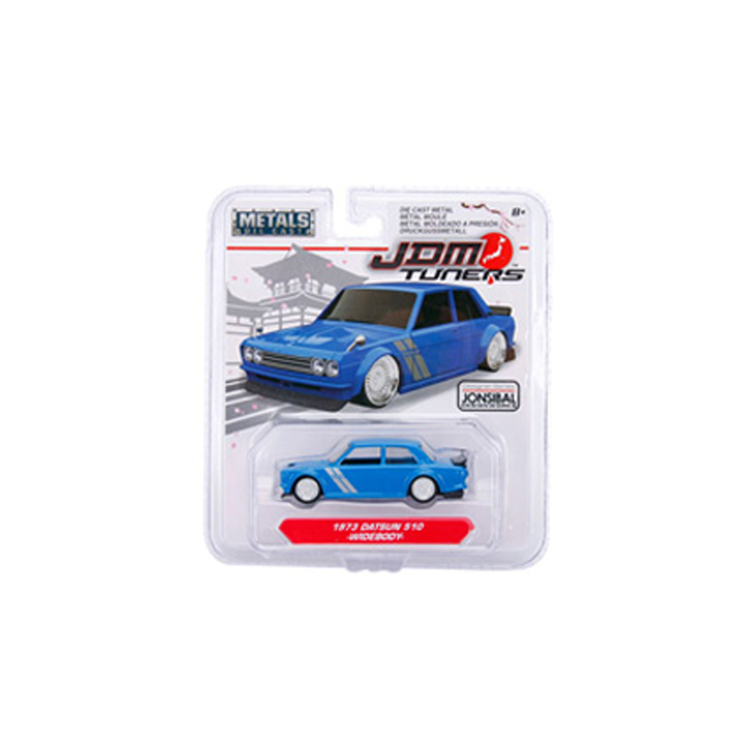 Jada 1:64 JDM Tuners Die-Cast Wave 3 - 6-Piece Case Car 6 in 1 Model Collection