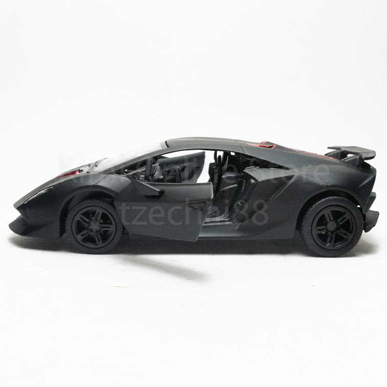 Kinsmart 1 38 Die Cast Lamborghini Sesto Elemento Car Model With Box