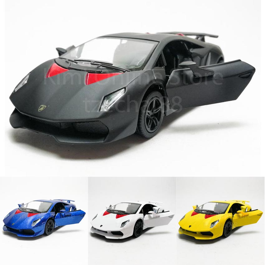 Kinsmart 1 38 Die Cast Lamborghini Sesto Elemento Car Model With