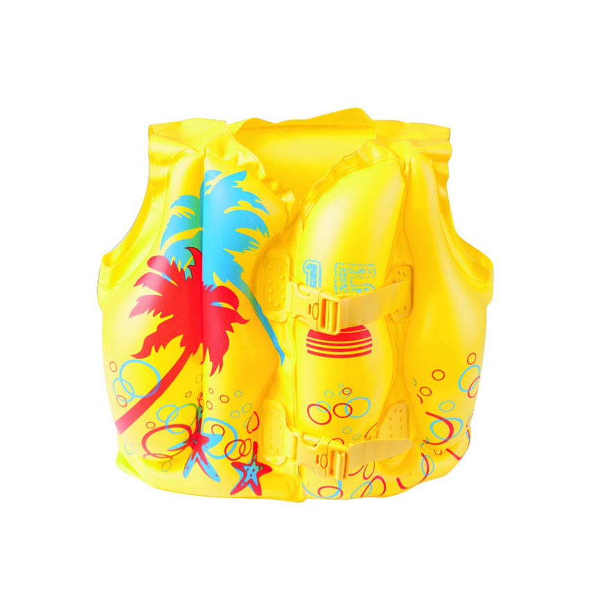 Bestway 32069 Swim Safe Tropical Swim Baby Vest Jacket 41cm x 30cm Yellow 16 x 12