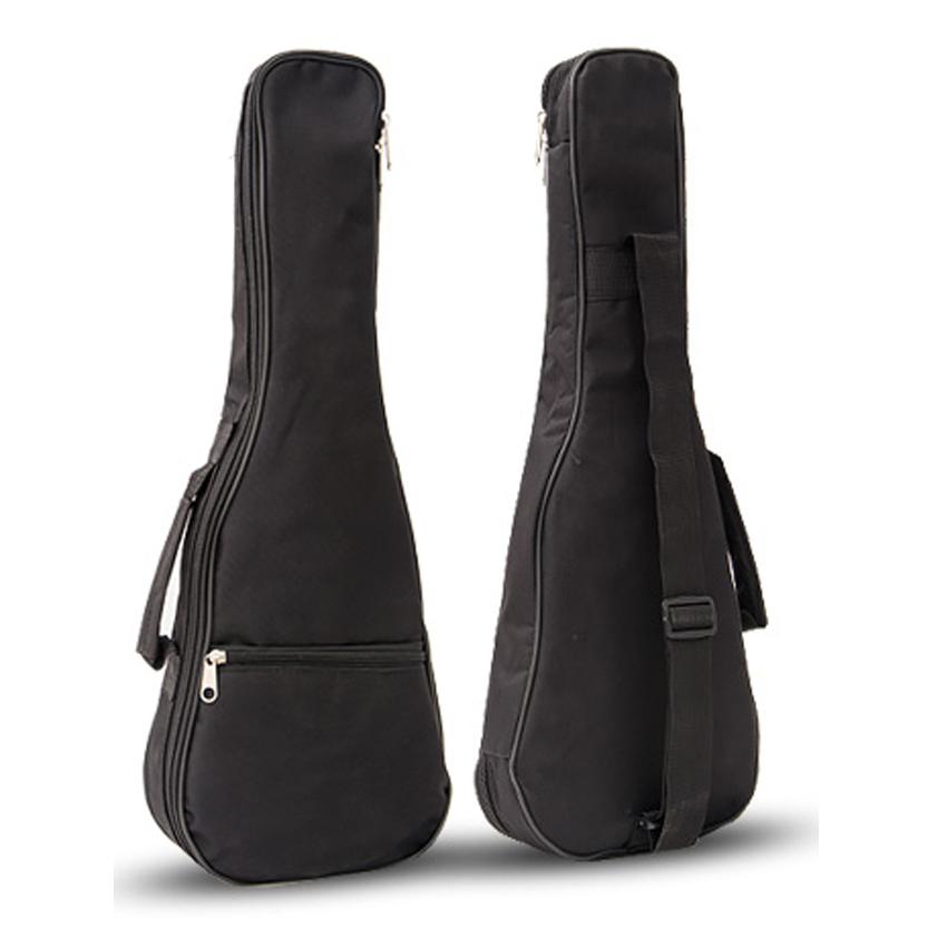 21\'/23\'/26\' Ukulele Bag High Quality Cotton Padded Soft Shoulder Carry Case Straps Musical Instruments Black