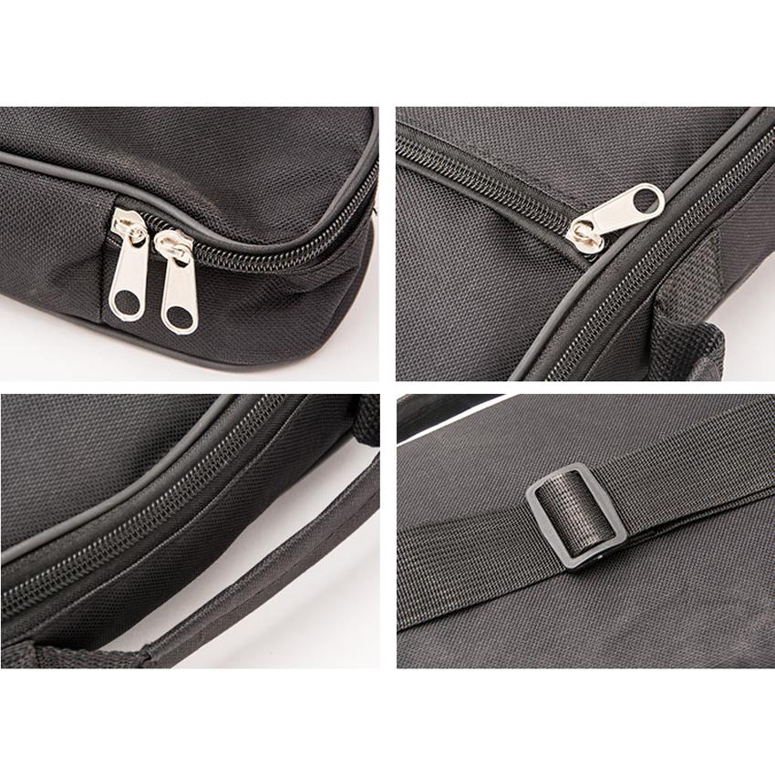 21'/23'/26' Ukulele Bag High Quality Cotton Padded Soft Shoulder Carry Case Straps Musical Instruments Black