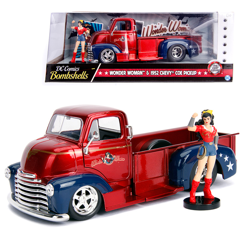 Jada 1:24 Die-Cast Hollywood Rides Girls Vesion 6 in 1 Set Car Model Collection