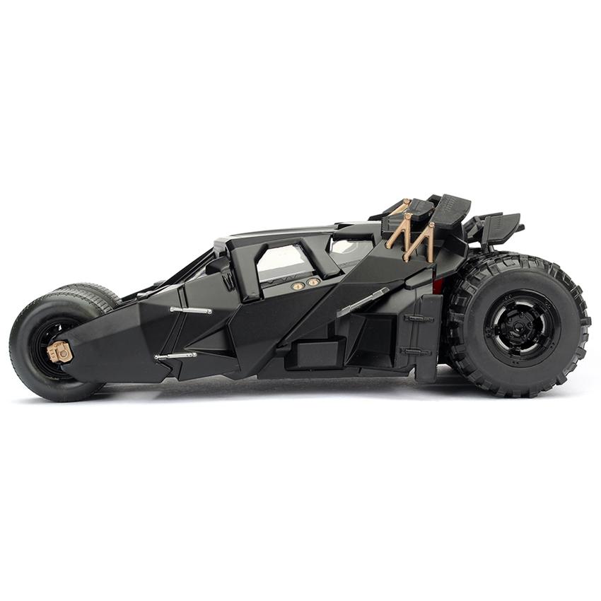 Jada 1:24 Die-Cast Tumbler Batmobile & Batman The Dark Knight Model Collection