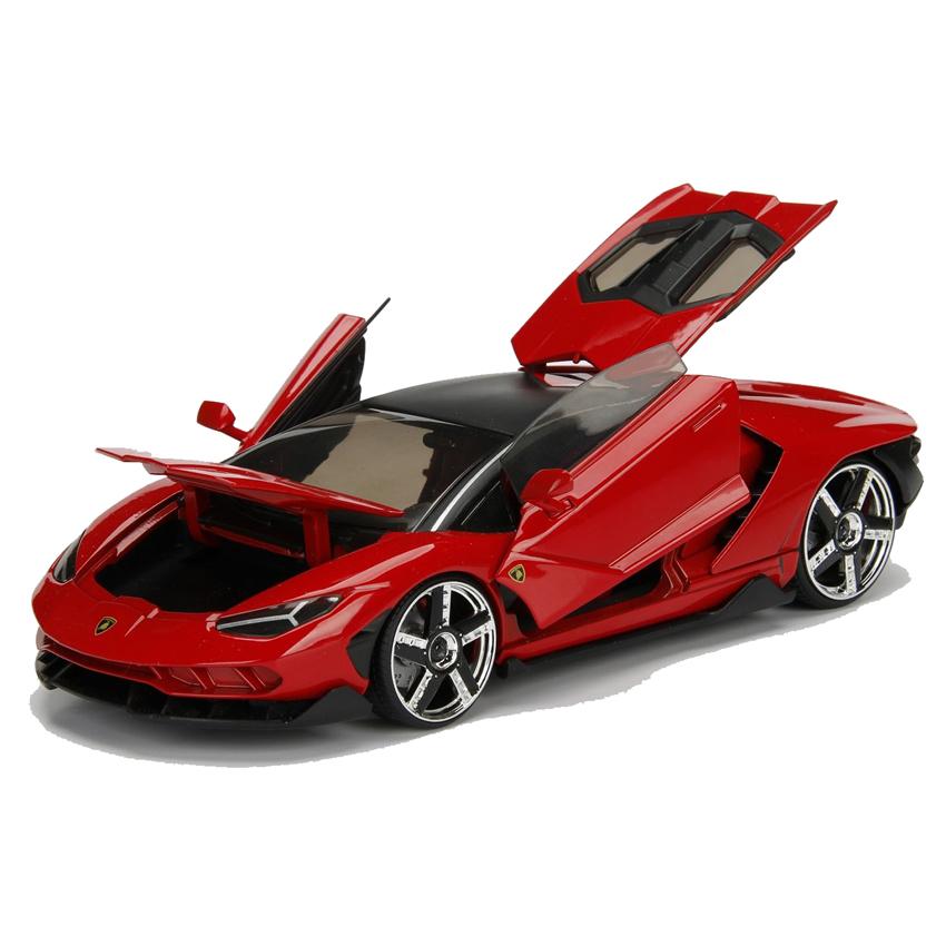 Jada 1 24 Hyper Spec Die Cast Lamborghini Centenario Car Red Model