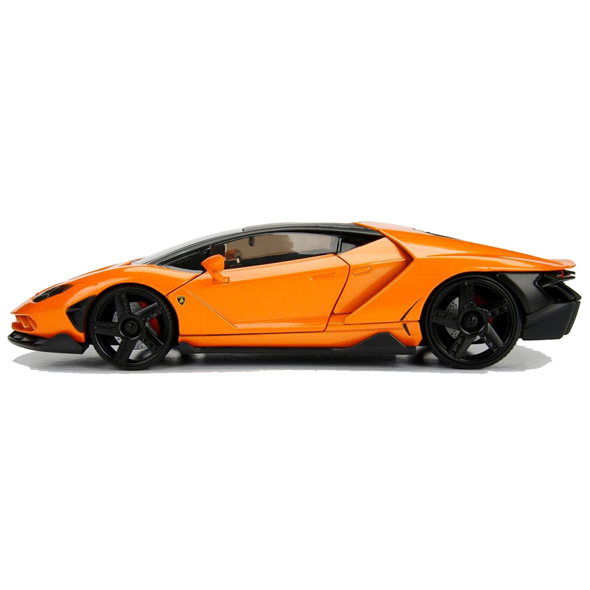 Jada 1 24 Hyper Spec Die Cast Lamborghini Centenario Car Orange