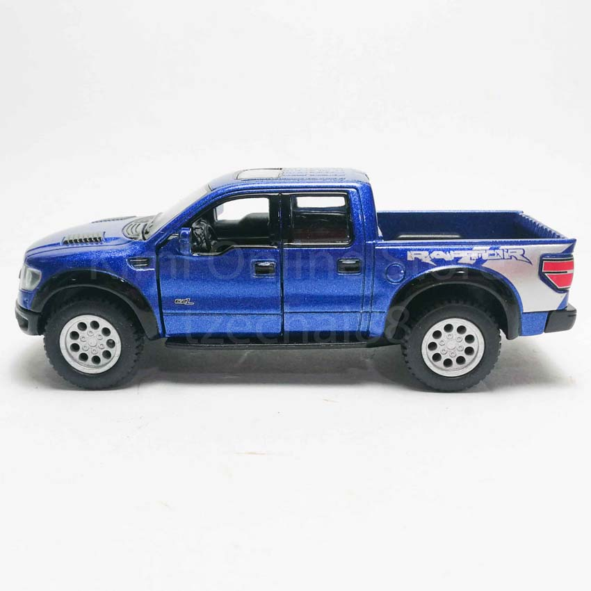 Kinsmart 1:46 Die-cast 2013 Ford F-150 SVT Raptor SuperCrew Car Model with Box Collection