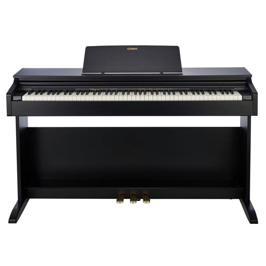 88 Key Casio AP-270 Black Celviano Piano Bench Weighted Scaled Hammer Action Tri-Sensor Keys Lvory Touch