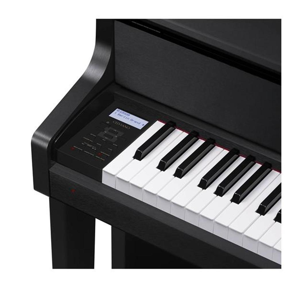 88 Key Casio GP-300 BK Celviano Piano Bench AiR Grand Sound Source 256 Note Polyphony 30W x 2 + 20W x 2 Amplifier