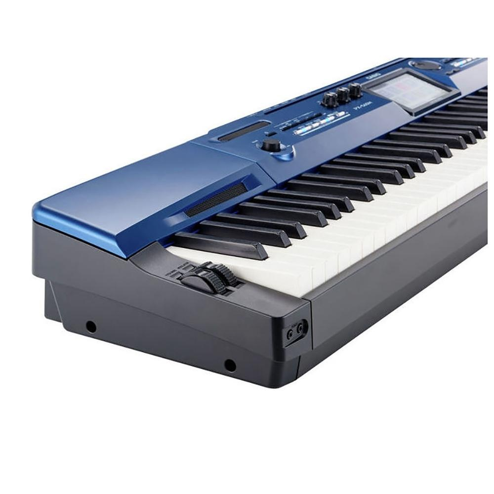 """88 Key Casio PX-560 PRIVIA Electronic Keyboard Piano Organ AiR Sound Source 650 tones and 220 Rhythms 5.3"""" Color Touch Interface"""