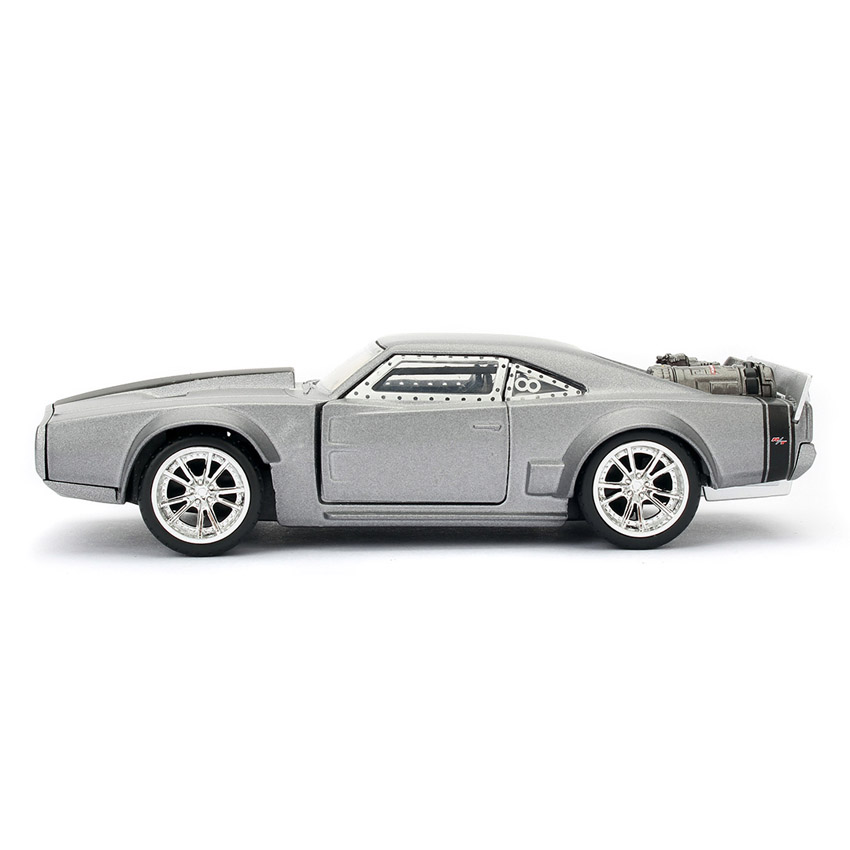 Dodge Ice Charger >> Jada Fast Furious 8 1 32 Diecast Dom S Dodge Ice Charger Car Silver Model