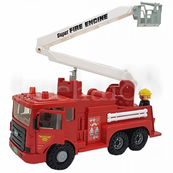 Daesung Fire Engine Fightfighter truck Friction Generic made in Korea Model Toys DS-959-1